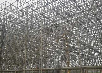 Bridge And Tunnel Construction Scaffolding Hot Dipped Galvanized Surface Treatment